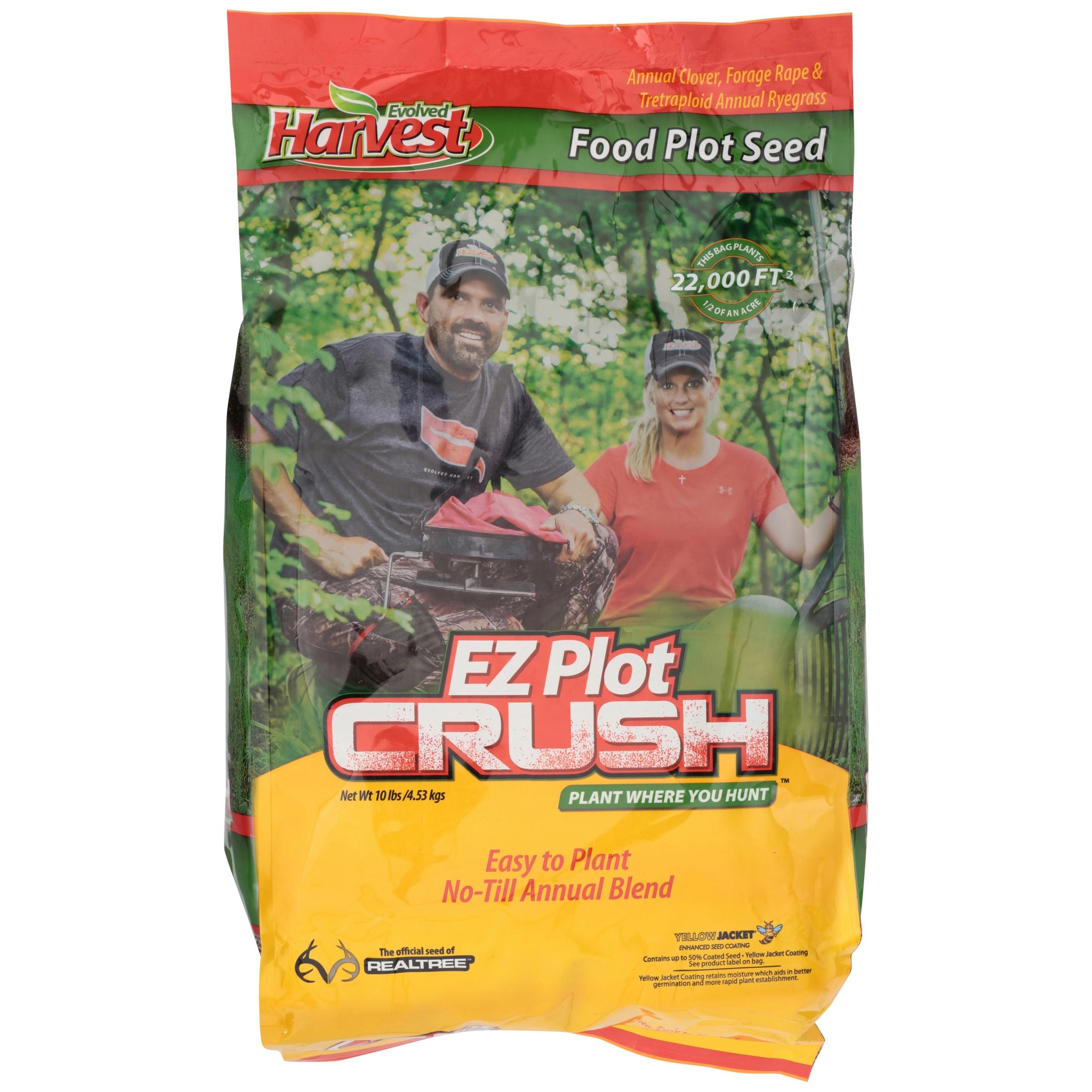 Evolved Harvest® EZ Plot Crush™ Grass Seed 10 lb. Bag