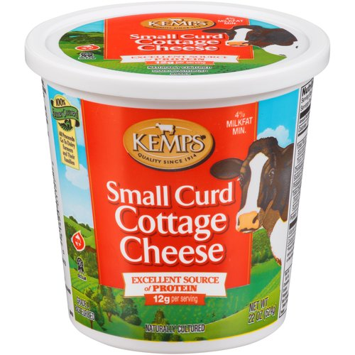kemps small curd cottage cheese 24 oz walmart com rh walmart com kemps cottage cheese coupons kemps cottage cheese nutrition facts