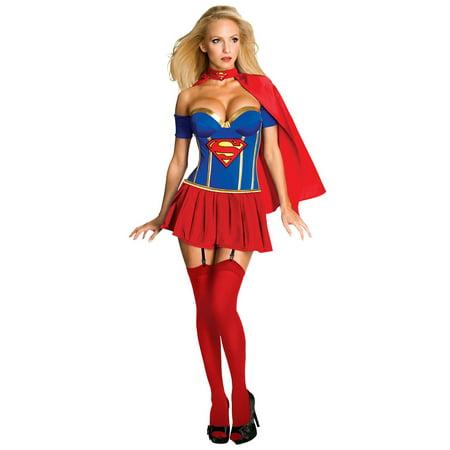 Sexy Womens Supergirl Halloween Costume