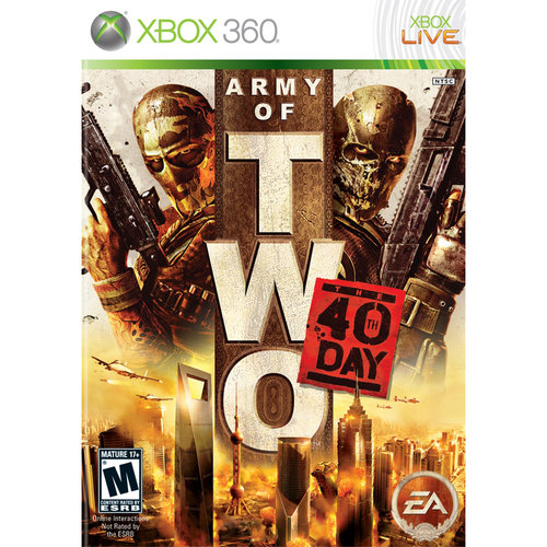 Army of Two: 40th Day (Xbox 360) Electronic Arts, 14633157130
