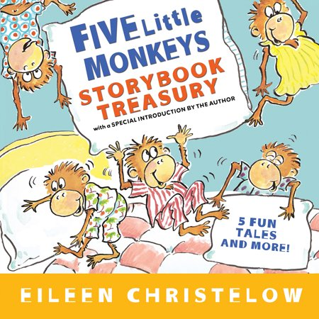 Five Little Monkeys Storybook Treasury (Monkey Go Happy 5 Cool Maths Games)