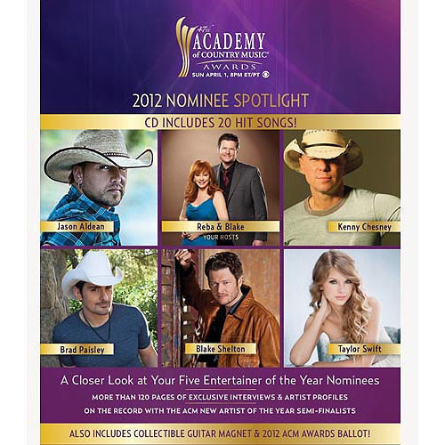 2012 ACM Awards 'ZinePak
