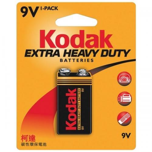 Kodak K9VHZ-1 863-5401 Extra Heavy-Duty 9V Battery
