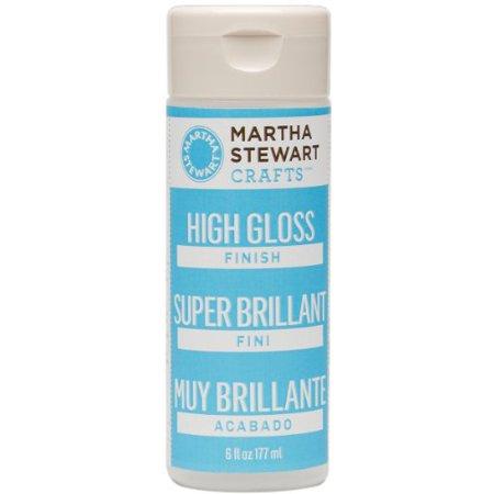 Martha Stewart Crafts High Gloss Finish (6-Ounce), - Martha Stewart Paint Colors