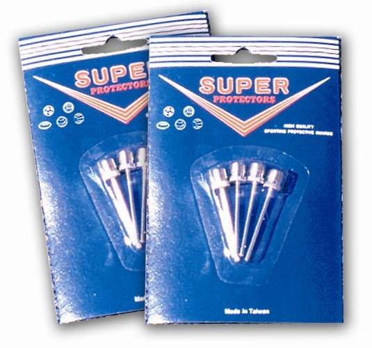 Nickel Plated Sports Ball Inflating Needles - Pack of 4