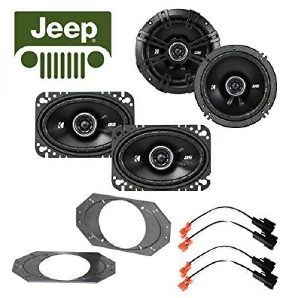 Fits Jeep Wrangler 1997-2006 Factory Speaker Kicker 4x6 ,...