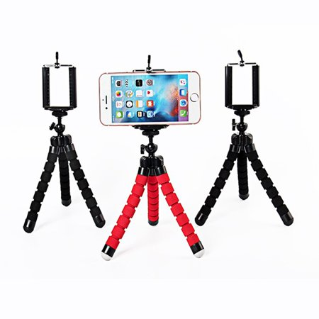 Haobase Portable Flexible Tripod Holder Mount Stand For Action Camera Gopro Hero 4 3/SJCAM Xiao Mi Yi Accessories And Mobile Phone (Pro Camera Stand)