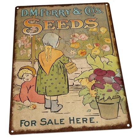 (Seeds For Sale Here Vintage Advertisement 9