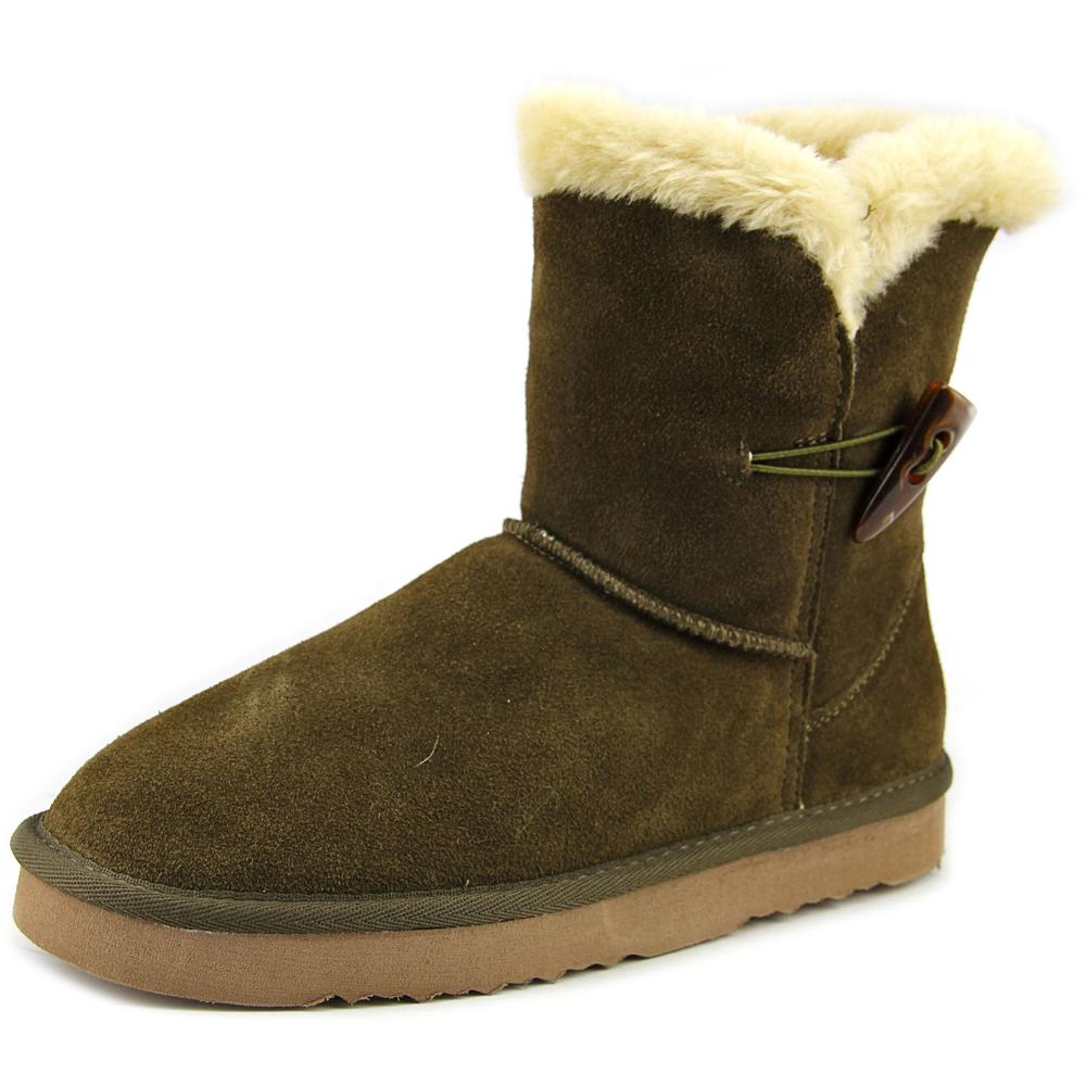 Style & Co Tiny Round Toe Suede Winter Boot by Winter Boots
