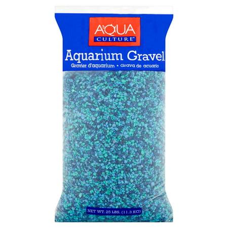 Aqua Culture Aquarium Gravel, Caribbean, 25 lb
