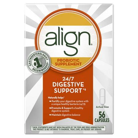Align Probiotic Supplement 56 Count - Walmart.com