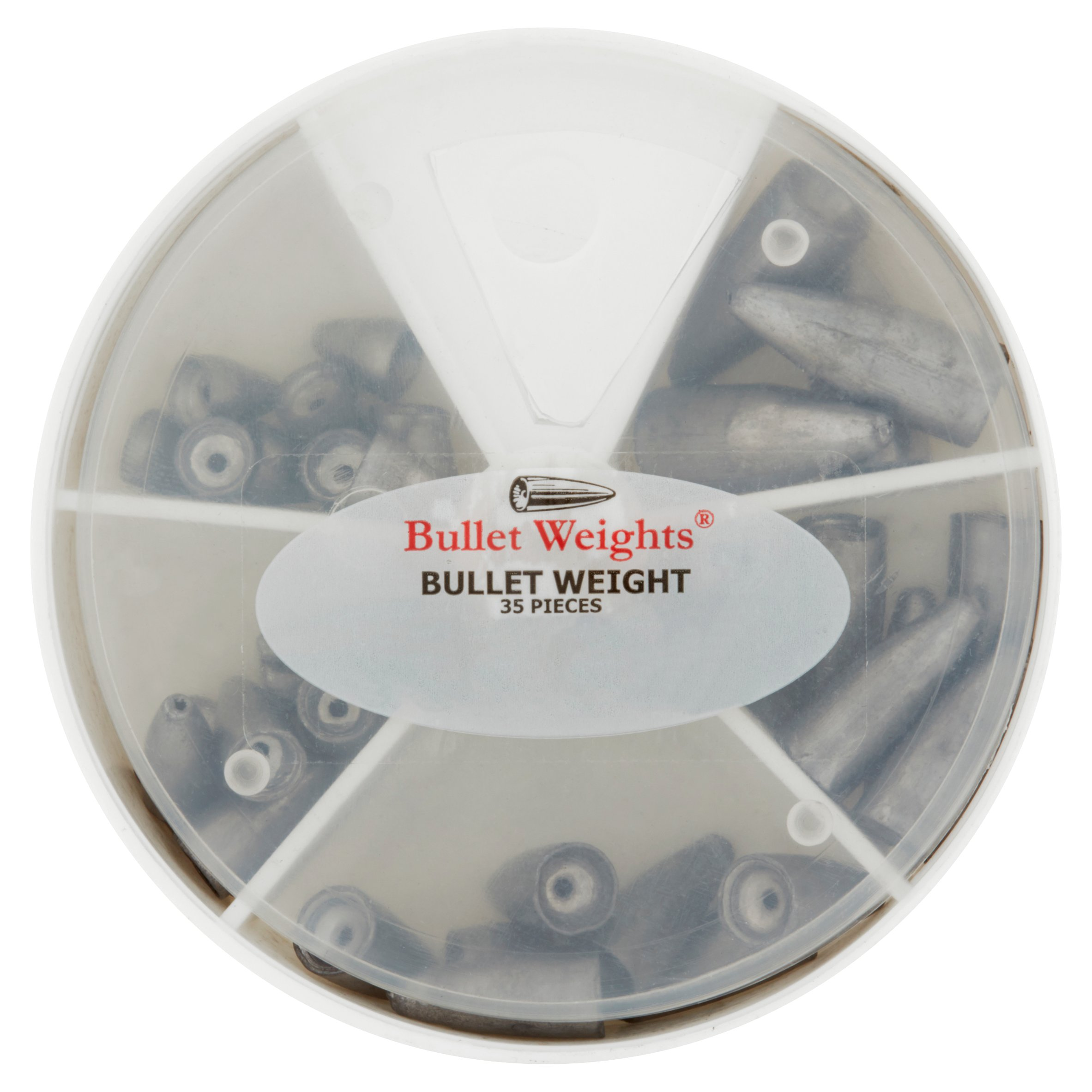 Bullet Weights® Bullet Weight skillet, 35 sinkers