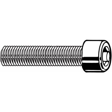 FABORY M2.5-0.45 x 10mm A4 Stainless Steel Flat Socket Head Cap Screw, 50 pk., M55050.025.0010