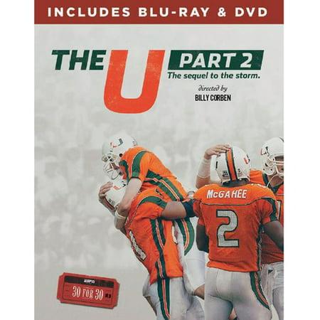 Espn Films 30 for 30: The U Part 2 (DVD + Blu-ray)](Halloween Films Rated U)