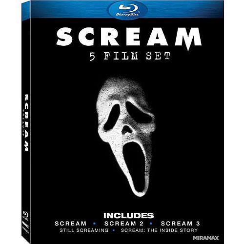 Scream 5 Film Set: Scream / Scream 2 / Scream 3 / Still Screaming / Scream: The Inside Story (Blu-ray) (Widescreen)