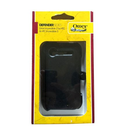 OtterBox - Defender Case for HTC Droid Incredible 2 6350 - Black