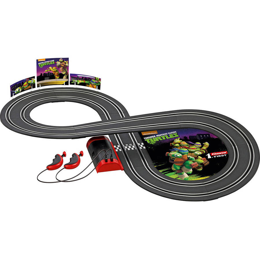TMNT Battery Operated Road Race Set