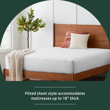 Rest Haven Waterproof, Traditional or Overfilled Down Alternative Mattress Pad Collection, Queen