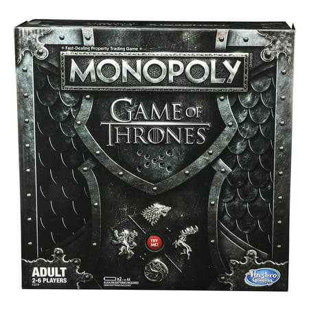 Monopoly Game of Thrones, Board Game Based on Hit TV Series from HBO](Game Of Thrones Cloak Pattern)