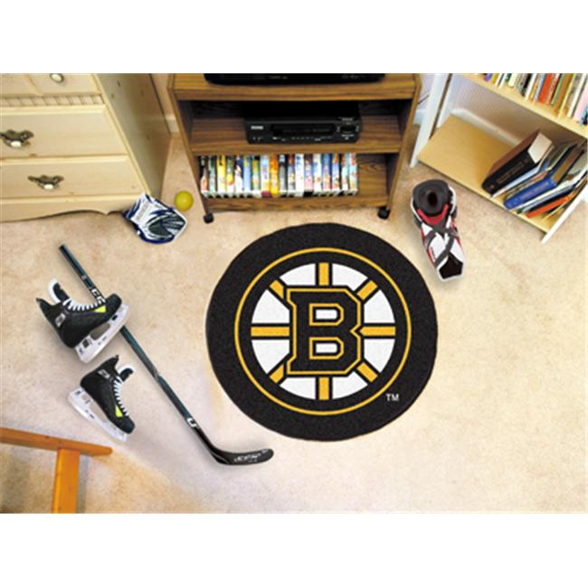 Boston Bruins Puck Mat