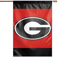 """Georgia Bulldogs WinCraft 28"""" x 40"""" Double-Sided Banner Flag - No Size"""