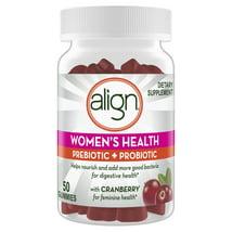 Probiotics: Align Women's Health Prebiotic + Probiotic Gummies