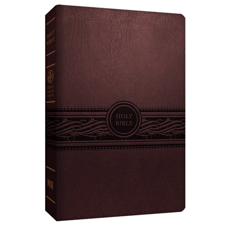 Large Cherry (Holy Bible: Modern English Version, Cherry Brown, Personal)