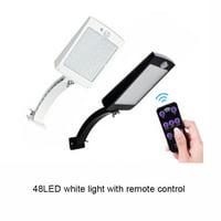 Outdoor 48LED White light Garden Solar Power Sensor Light Waterproof Motion Lamp Street Light Wall Light
