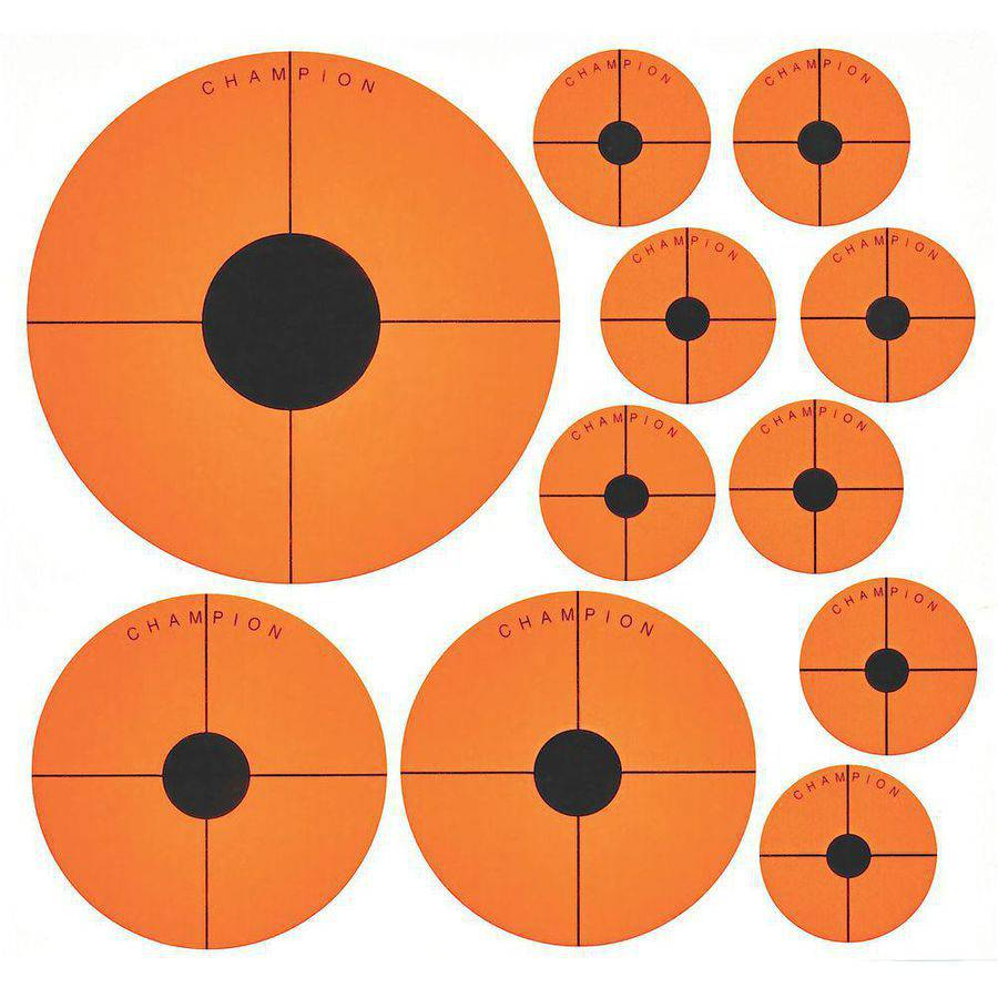 Champion Targets 45771 Instant Adhesive Instant Adhesive Targets, 20-Pack