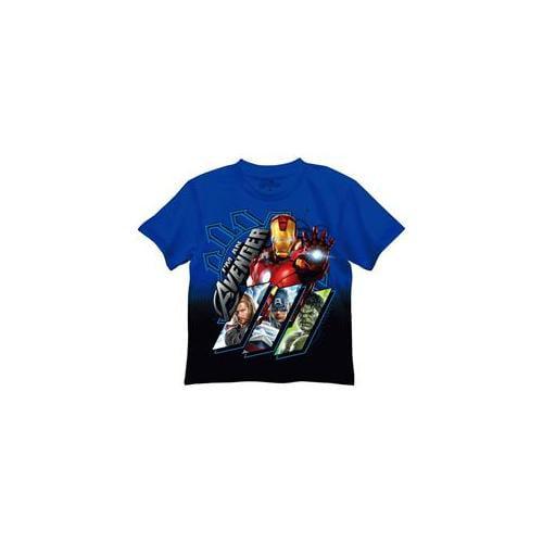 Mad Engine Inc.  The Avengers Blue T-Shirt 7