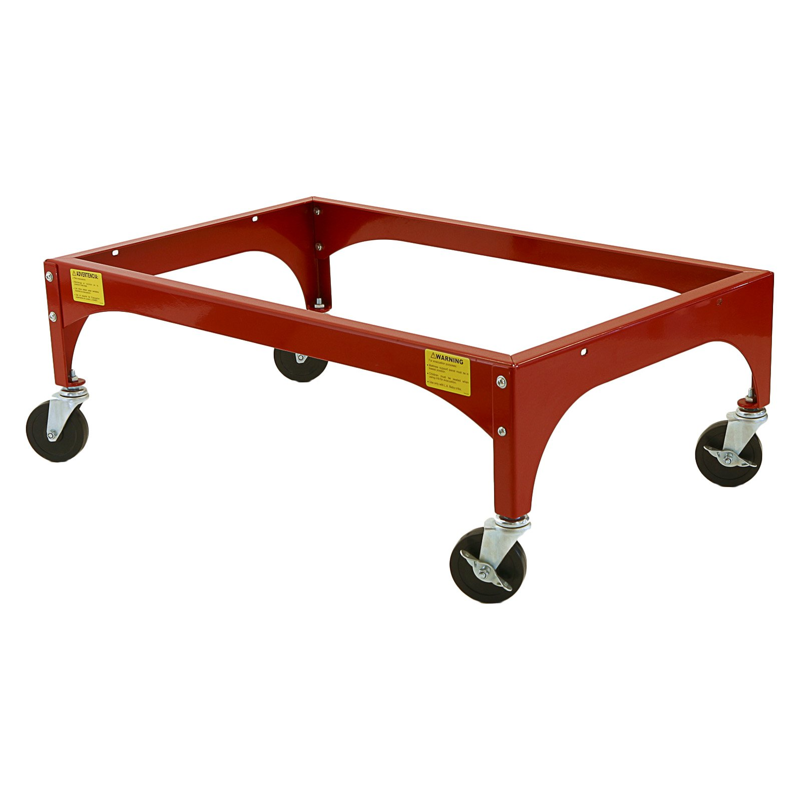 LA Baby Evacuation Frame for Window Cribs with Heavy Duty Casters