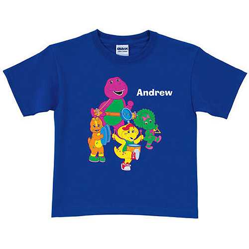 Personalized Barney & Friends Band Boys' T-Shirt