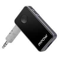 Mpow Streambot Mini Bluetooth 4.0 Receiver A2DP Wireless Adapter for Home Audio Music Streaming Sound System