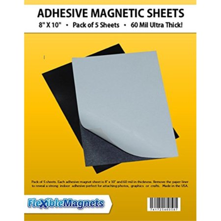 5 Magnetic Sheets of 8