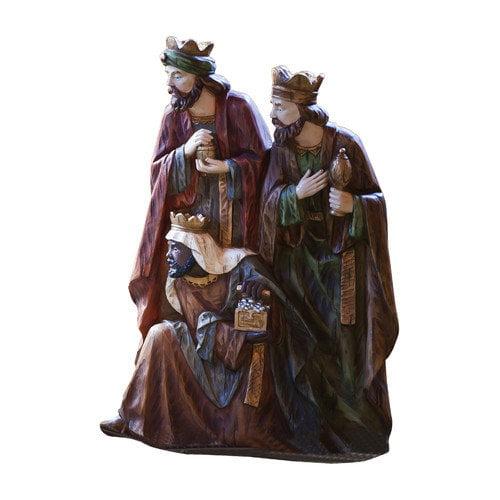 New Creative Three Wise Men Statue Christmas Decoration