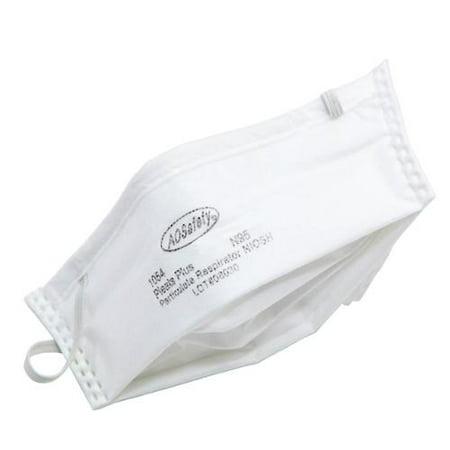 50pk AOSaftey Pleats Plus Particulate Respirators N95 Dust M
