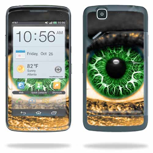 Mightyskins Protective Skin Decal Cover for Pantech Flex P8010 Cell Phone AT&T wrap sticker skins Eye On You