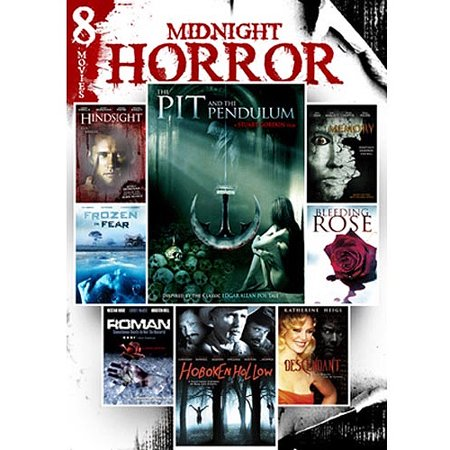 The Midnight Horror Collection, Vol. 11 - Pit And The Pendulum / Frozen In Fear / Memory / Descendant / Roman / Hindsight / Hoboken Hollow / Bleeding Rose