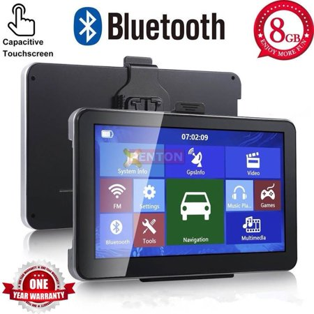 5-inch GPS Navigation System Touchs creen Built in 8G Memory