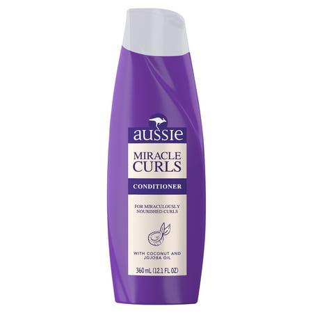 (2 Pack) Aussie Miracle Curls Conditioner, 12.1 fl oz