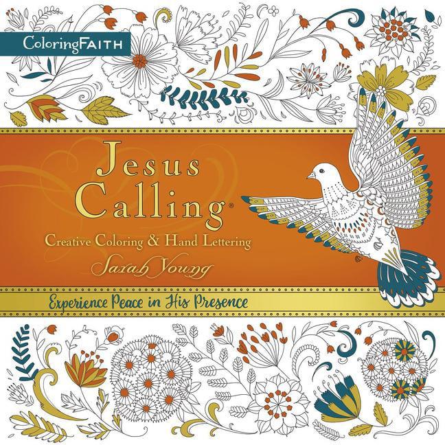 - Jesus Calling Adult Coloring Book: Creative Coloring And Hand Lettering -  Walmart.com - Walmart.com