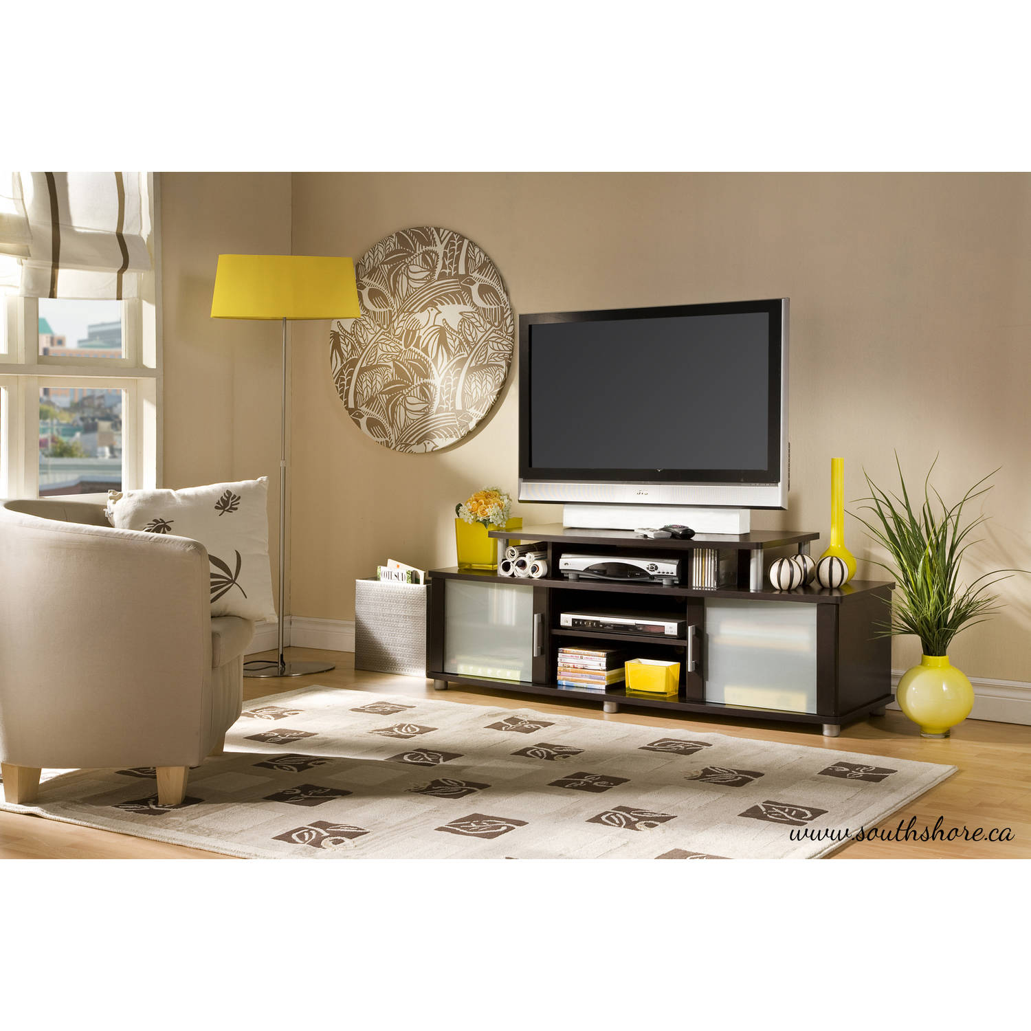 "South Shore City Life TV Stand for TVs up to 50"" Multiple"