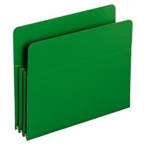 Smead 73502 Green Poly File Pockets