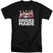 Bridesmaids Maids Mens Big and Tall Shirt