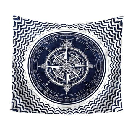 Compass Mandala Tapestry Indian Printed Bohemian Tapestry Mandala Beach Shawl Festival Party DIY Wall Hanging Decor Supplies - Diy Bohemian Decor