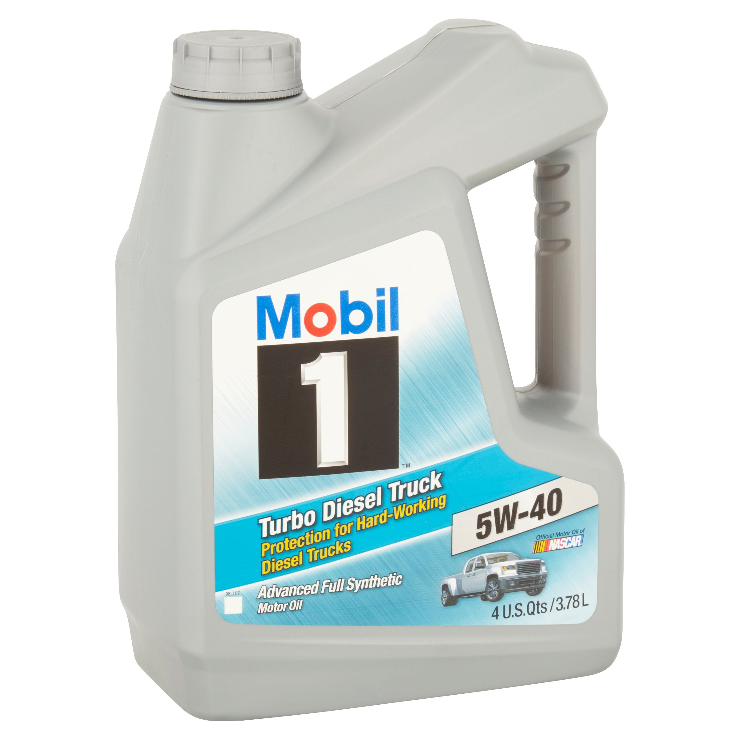 3 mobil 1 5w 40 turbo diesel truck motor oil 1 gal full. Black Bedroom Furniture Sets. Home Design Ideas