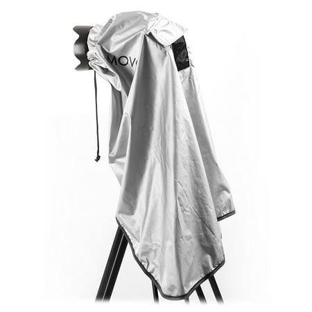 Deep Water Gray Lens (Movo CRC03 Extra-Long Waterproof Rain Coat for DSLR Camera, Lens & Tripod (Metallic)