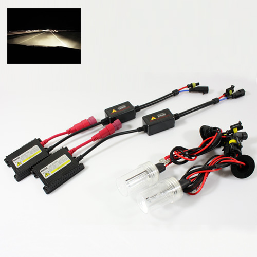 ModifyStreet® H1 35W Slim AC Ballast Xenon HID Conversion Kit - 4300K Stock White