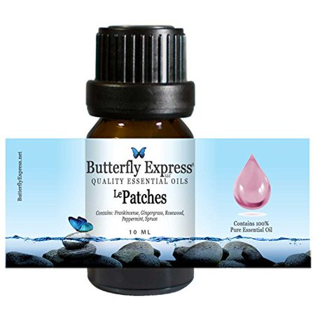 Le Patches Essential Oil Blend 10ml - 100% Pure - by Butterfly Express