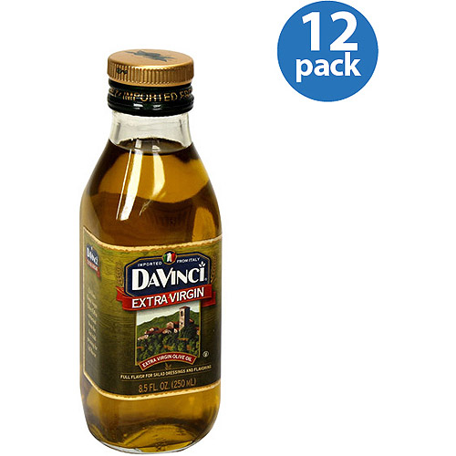 DaVinci Extra Virgin Olive Oil, 8.5 fl oz, (Pack of 12)